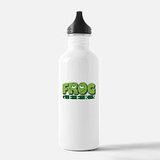 Frog Geeks Water Bottle