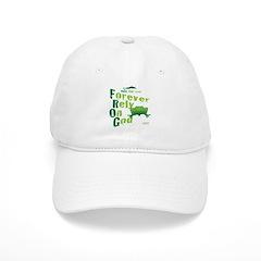 FROG = Forever Rely On God Baseball Cap