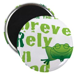 FROG = Forever Rely On God 2.25
