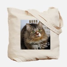 KittyCrack Tote Bag