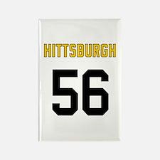 Hittsburgh 56 Rectangle Magnet