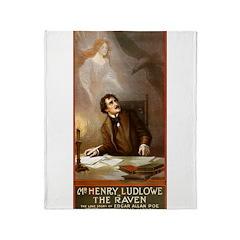 The Raven Throw Blanket