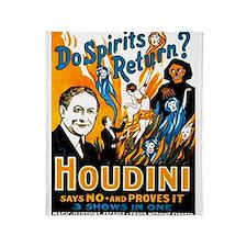 Houdini Spirits Throw Blanket