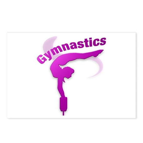 I Love Gymnastics #12 Postcards (Package of 8)