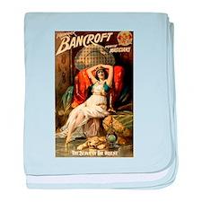 Frederick Bancroft Magician baby blanket