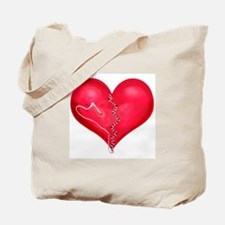 """""""Mended Heart"""" Tote Bag"""