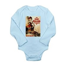 High Rollers Mamie Lamb Long Sleeve Infant Bodysui