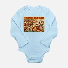 Indian Maidens Long Sleeve Infant Bodysuit