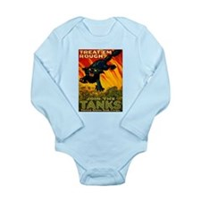 Join The Tanks Long Sleeve Infant Bodysuit