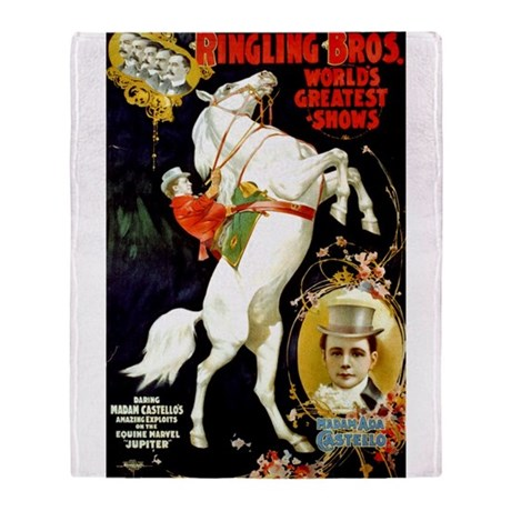 Ringling Brothers (A) Throw Blanket