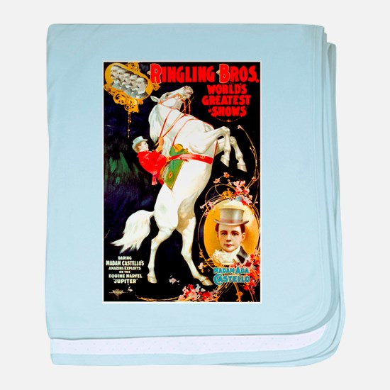 Ringling Brothers (A) baby blanket