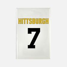 Hittsburgh 7 Rectangle Magnet