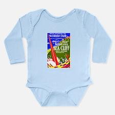 Sea Cliff Long Sleeve Infant Bodysuit