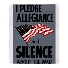 Pledge Allegiance Throw Blanket