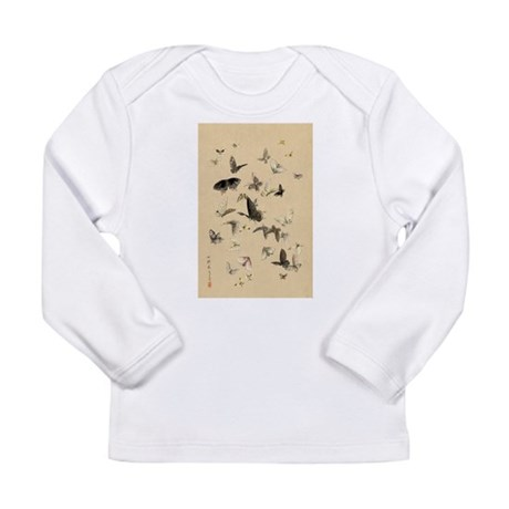 Japanese Ukiyo-e Print Long Sleeve Infant T-Shirt