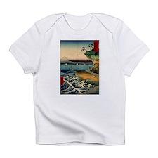 Japanese Ukiyo-e Mt. Fuji Infant T-Shirt