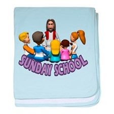 Sunday School baby blanket