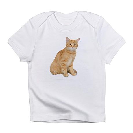 Yellow Cat Infant T-Shirt