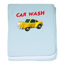 Car Wash baby blanket