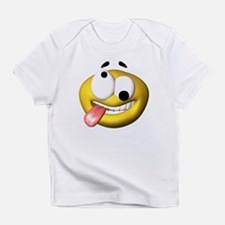Crazy Smily Infant T-Shirt