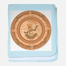 Mayan Calendar baby blanket