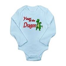 Year of the Dragon Long Sleeve Infant Bodysuit