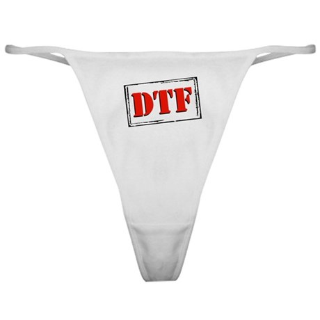 DTF Classic Thong