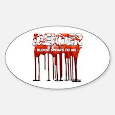 Dexter ShowTime blood speaks Decal