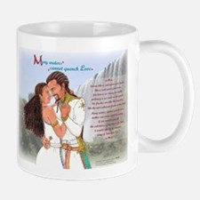 "Many Waters Cannot Quench Love--Mug (3.75"" ta"