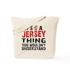 Jersey Thing Tote Bag