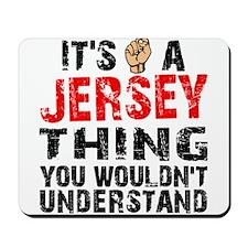 Jersey Thing Mousepad
