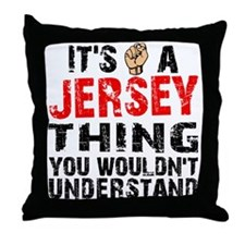 Jersey Thing Throw Pillow