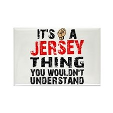 Jersey Thing Rectangle Magnet