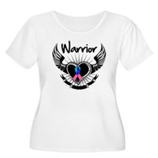 Warrior Thyroid Cancer T-Shirt