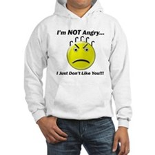 I'm Not Angry.. I just Don't Hoodie