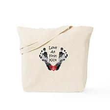 Love At First Kick Tote Bag