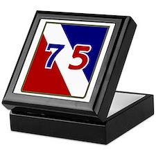 75th Keepsake Box