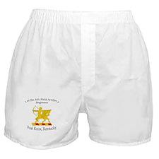 1st Bn 6th Artillery Boxer Shorts