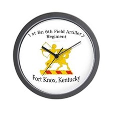 1st Bn 6th Artillery Wall Clock