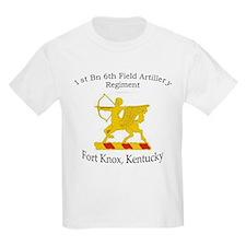 1st Bn 6th Artillery T-Shirt