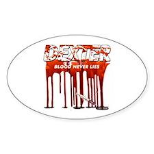 Dexter ShowTime blood never l Decal