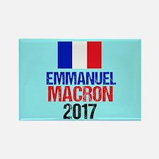 Emmanuel Macron Rectangle Magnet