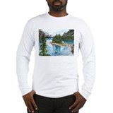 Maligne lake Long Sleeve T-shirts