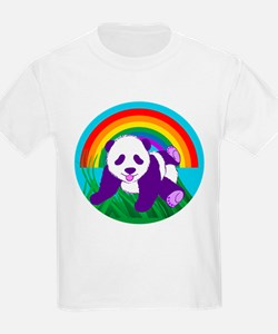 Purple Panda T-Shirt