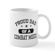 Proud Combat Medic Dad Small Mug