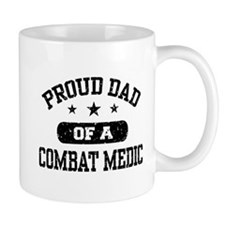 Proud Combat Medic Dad Small Mug