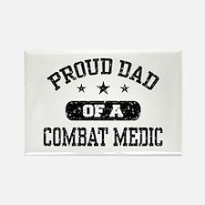 Proud Combat Medic Dad Rectangle Magnet