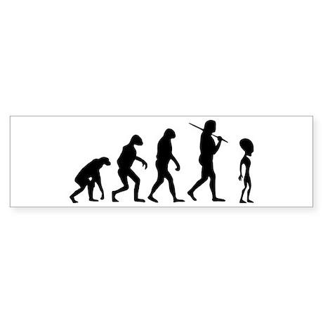 The Evolution Of The Alien Sticker (Bumper)
