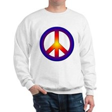 Cool Peace Sign Sweatshirt