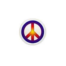 Cool Peace Sign Mini Button (10 pack)